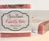 Ayerloom Essentials Vanilla Rose Three Butter Soap