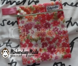 Small Zippered Wet Bag - Floral