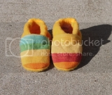 Calico Sunshine Soft Sole Shoes- Newborn