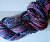 Across the Universe 100% Merino Wool yarn with black trim