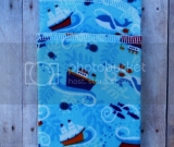 Whale Boats Handkerchief