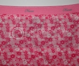 Pink Floral Snappanty - Size X-Large