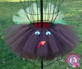 Turkey Tutu with Tail Feather Bustle