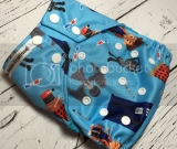 Dr. Who?  One Size Pocket Diaper  Pre Order