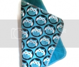 UnPaper Towels- Blue Owl Flannel/Terry- Set of 6
