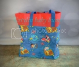 Jake and the neverland pirates large tote- FREE SHIPPING