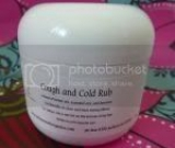 Cough and Cold Rub 2 oz jar