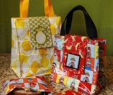 The Eco-Luncher Lunch Bag Set Pattern - PDF version!