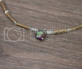 Purple Drop Hazelwood Necklace