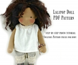 Kit and PDF pattern for Lali Pop doll