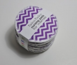 5 PAIRS nursing pads. Purple chevron
