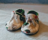 Woodland Snowman: Soft Sole Baby Shoes 0-3M