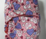 Candy Hearts /w bubblegum cotton velour - T&T multi-size