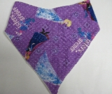 SALE! Purple Frozen - Bandana Bib
