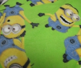 Green Minions - Fleece Blanket 60x72