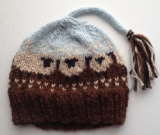 0-6 months - Extra Soft Cashmere Wool and Alpaca Sheep Hat
