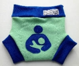 Medium Breastfeeding Wool Interlock Soaker