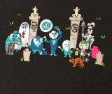 Haunted Mansion Cotton Lycra BK size Panel 20x24 Cotton Lycra Retail