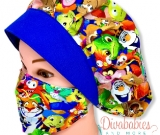 Custom Sidekicks Bouffant Surgical Cap & Mask Set