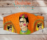 Custom Frida Face Mask