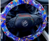 Custom Beauty and the Beast Inspired Steering Wheel Cover