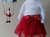 "Holiday set for a 16-18"" doll"